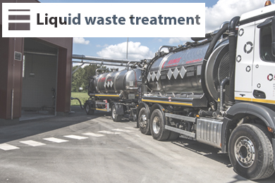 Liquid waste treatment